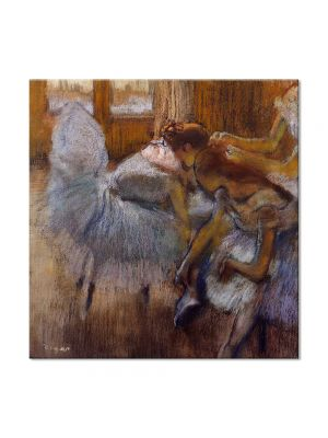 Tablou Arta Clasica Pictor Edgar Degas Dancers Relaxing 1885 80 x 80 cm