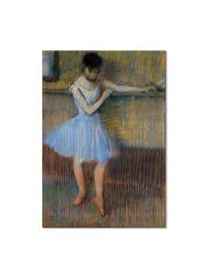 Tablou Arta Clasica Pictor Edgar Degas Dancer in Blue at the Barre 1889 80 x 100 cm
