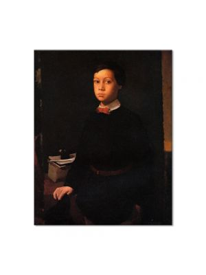 Tablou Arta Clasica Pictor Edgar Degas Portrait of Rene De Gas 1856 80 x 100 cm