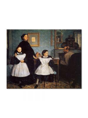 Tablou Arta Clasica Pictor Edgar Degas The Belleli Family 1862 80 x 100 cm