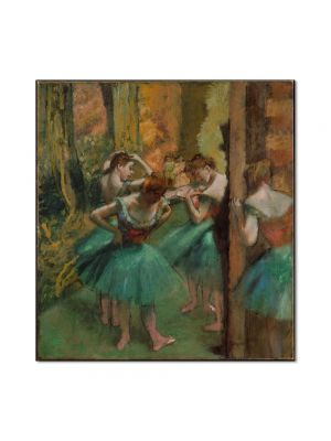 Tablou Arta Clasica Pictor Edgar Degas Dancers, Pink and Green 1890 80 x 90 cm