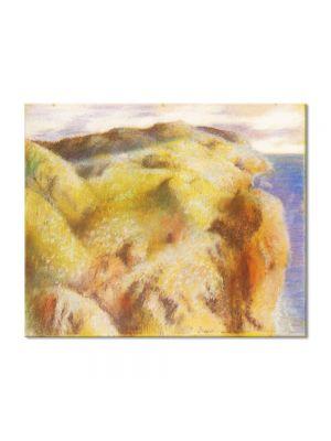 Tablou Arta Clasica Pictor Edgar Degas Steep Coast 1892 80 x 100 cm