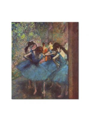 Tablou Arta Clasica Pictor Edgar Degas Dancers in Blue 1895 80 x 90 cm