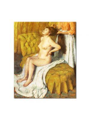 Tablou Arta Clasica Pictor Edgar Degas Woman Having Her Hair Combed 1895 80 x 90 cm