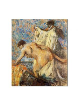 Tablou Arta Clasica Pictor Edgar Degas Woman Leaving Her Bath 1898 80 x 90 cm