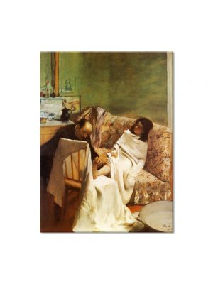 Tablou Arta Clasica Pictor Edgar Degas The Pedicure 1873 80 x 100 cm