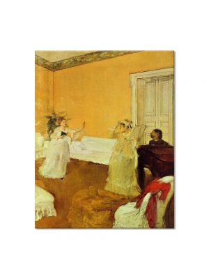 Tablou Arta Clasica Pictor Edgar Degas The Rehearsal 1873 80 x 100 cm