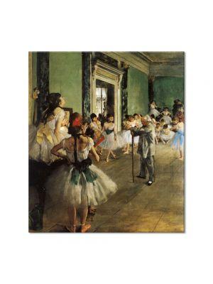 Tablou Arta Clasica Pictor Edgar Degas The Ballet Class 1874 80 x 90 cm