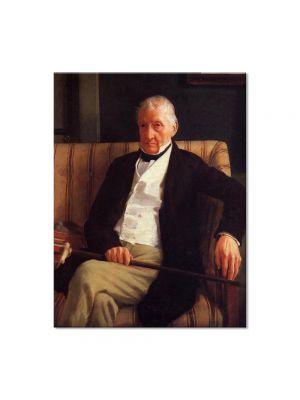 Tablou Arta Clasica Pictor Edgar Degas Portrait of Rene-Hillaire De Gas 1857 80 x 100 cm