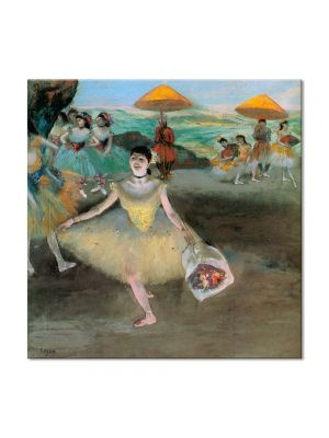 Tablou Arta Clasica Pictor Edgar Degas Dancer with a Bouquet Bowing 1877 80 x 80 cm