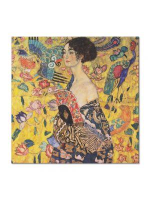 Tablou Arta Clasica Pictor Gustav Klimt Adam and Eva, unfinished 1918 60 x 120 cm