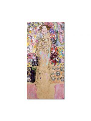 Tablou Arta Clasica Pictor Gustav Klimt Portrait of a Lady, unfinished 1918 80 x 90 cm
