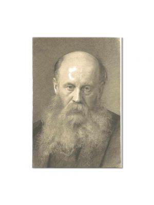 Tablou Arta Clasica Pictor Gustav Klimt Portrait of a man with beard 1879 80 x 100 cm