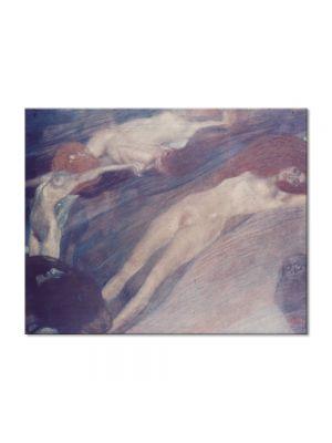 Tablou Arta Clasica Pictor Gustav Klimt Bewegte Wasser 1898 80 x 100 cm