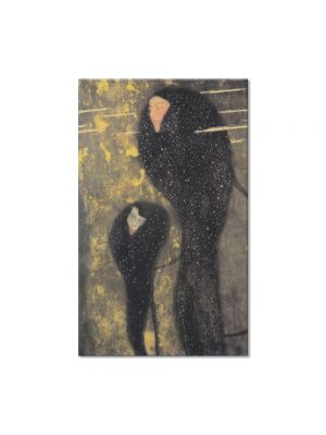 Tablou Arta Clasica Pictor Gustav Klimt Schubert at the Piano 1899 80 x 120 cm