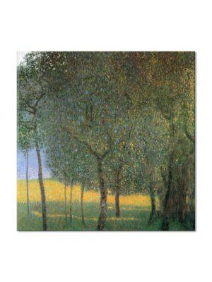 Tablou Arta Clasica Pictor Gustav Klimt Forest. Tannenwald 1901 80 x  80 cm