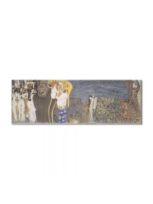 Tablou Arta Clasica Pictor Gustav Klimt The Beethoven Frieze: The Longing for Happiness. Left wall 1902 80 x 90 cm