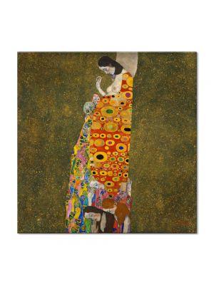 Tablou Arta Clasica Pictor Gustav Klimt Water Snakes 1907 80 x 140 cm