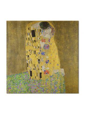 Tablou Arta Clasica Pictor Gustav Klimt Watersnakes 1907 70 x 160 cm