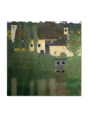 Tablou Arta Clasica Pictor Gustav Klimt Danae 1907 80 x  80 cm