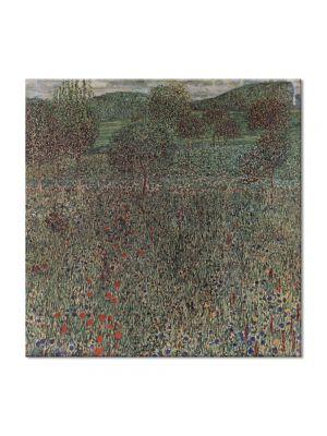 Tablou Arta Clasica Pictor Gustav Klimt Hope 1908 80 x  80 cm