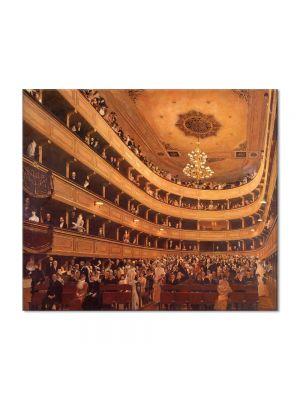 Tablou Arta Clasica Pictor Gustav Klimt The Old Burgtheater 1888 80 x 90 cm