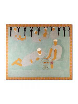 Tablou Arta Clasica Pictor Henri Matisse Arabian Coffee House 1913 80 x 100 cm
