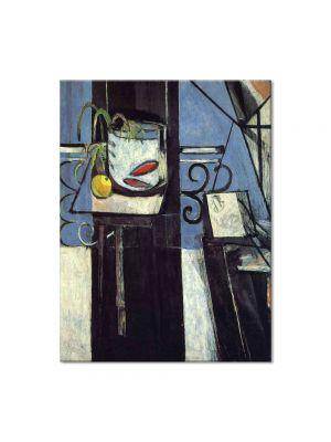 Tablou Arta Clasica Pictor Henri Matisse Goldfish and Palette 1914 80 x 100 cm