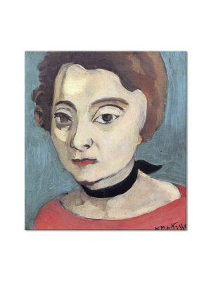 Tablou Arta Clasica Pictor Henri Matisse Marguerite 1916 80 x 90 cm