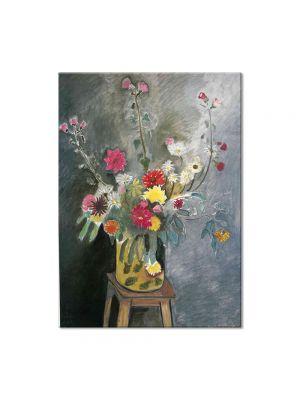 Tablou Arta Clasica Pictor Henri Matisse Bouquet of mixed flowers 1917 80 x 100 cm
