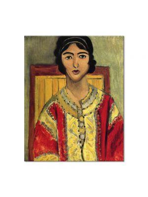 Tablou Arta Clasica Pictor Henri Matisse Lorette with a Red Dress 1917 80 x 100 cm