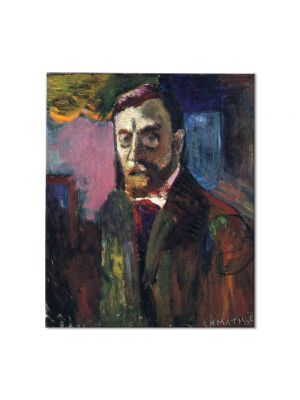 Tablou Arta Clasica Pictor Henri Matisse Self-Portrait 1900 80 x 90 cm