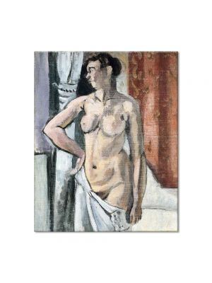Tablou Arta Clasica Pictor Henri Matisse Nude with Drapery 1918 80 x 100 cm