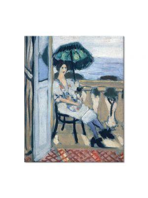 Tablou Arta Clasica Pictor Henri Matisse Woman holding umbrella 1919 80 x 100 cm