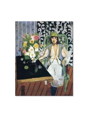 Tablou Arta Clasica Pictor Henri Matisse The Black Table 1919 80 x 100 cm