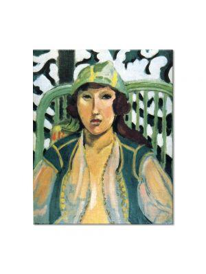 Tablou Arta Clasica Pictor Henri Matisse Woman with Oriental Dress 1919 80 x 100 cm