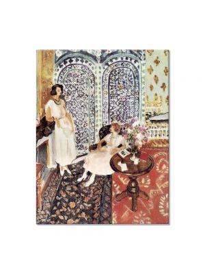 Tablou Arta Clasica Pictor Henri Matisse Moorish Screen 1921 80 x 100 cm