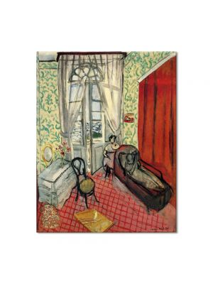 Tablou Arta Clasica Pictor Henri Matisse Woman on sofa or couch 1922 80 x 100 cm