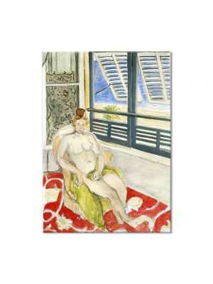 Tablou Arta Clasica Pictor Henri Matisse Seated by a Window 1922 80 x 100 cm