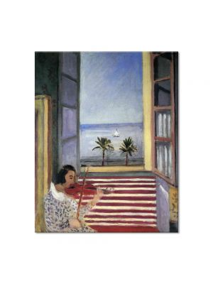 Tablou Arta Clasica Pictor Henri Matisse Young Woman Playing Violin 1923 80 x 100 cm