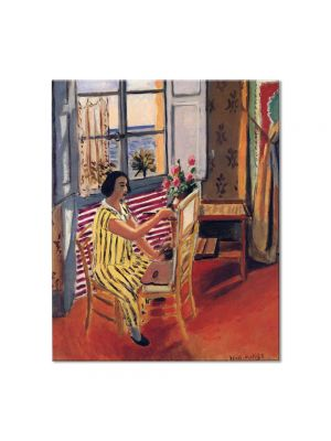Tablou Arta Clasica Pictor Henri Matisse The Morning Session 1924 80 x 90 cm