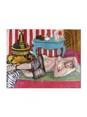 Tablou Arta Clasica Pictor Henri Matisse Odalisque with Green Scarf 1926 80 x 100 cm
