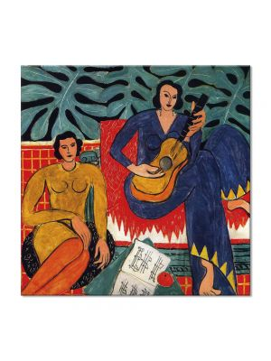 Tablou Arta Clasica Pictor Henri Matisse Music 1939 80 x  80 cm