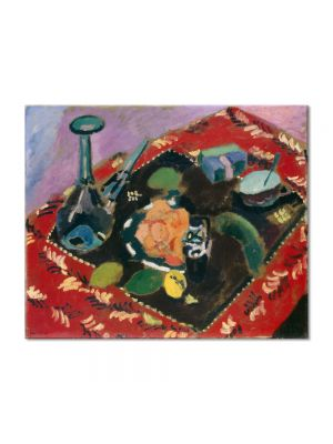 Tablou Arta Clasica Pictor Henri Matisse Dishes and Fruit 1906 80 x 100 cm