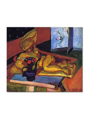 Tablou Arta Clasica Pictor Henri Matisse Sculpture and Persian Vase 1908 80 x 90 cm