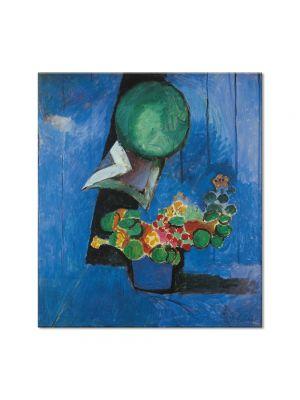 Tablou Arta Clasica Pictor Henri Matisse Flowers and Ceramic Plate 1913 80 x 90 cm