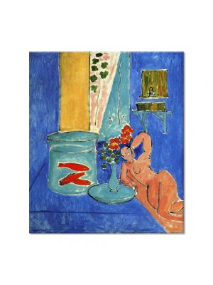 Tablou Arta Clasica Pictor Henri Matisse Red Fish and a Sculpture 1911 80 x 90 cm