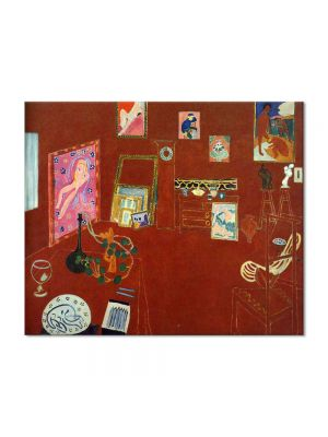 Tablou Arta Clasica Pictor Henri Matisse Red Studio 1911 80 x 100 cm