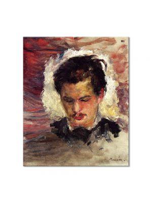 Tablou Arta Clasica Pictor Pierre-Auguste Renoir Portrait of Georges Riviere 1880 80 x 90 cm