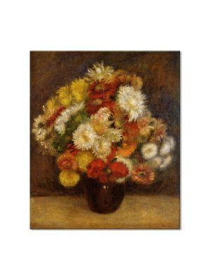 Tablou Arta Clasica Pictor Pierre-Auguste Renoir Bouquet of Chrysanthemums 1881 80 x 90 cm